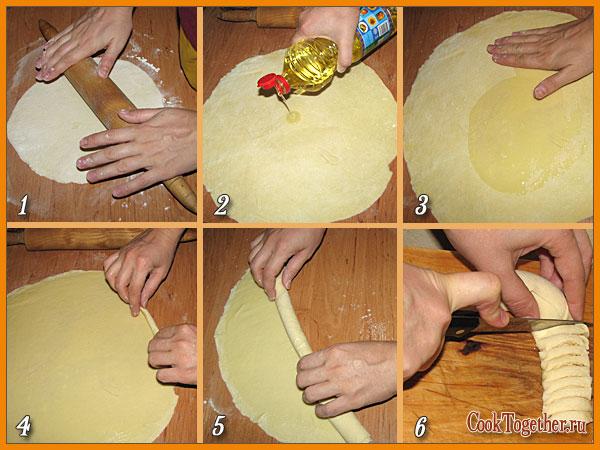 Как приготовить штрудель с капустой в домашних условиях